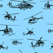 Helicopterslight - Light Blue