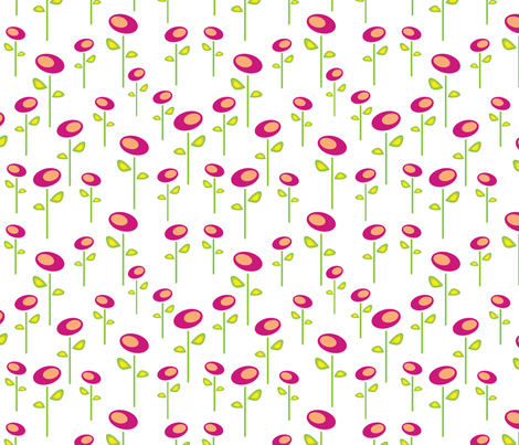 quand le soleil fabric by josyan_mcgregor_designs on Spoonflower - custom fabric