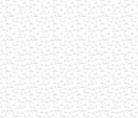 Gray Mountains Accent  fabric by hey_there_louise on Spoonflower - custom fabric
