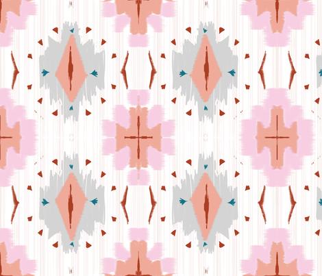 diamonds & cross fabric by alison_janssen on Spoonflower - custom fabric