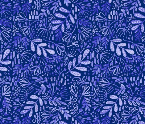 247_blue_yellow_floral_pattern_big_blue_on_blue_shop_preview