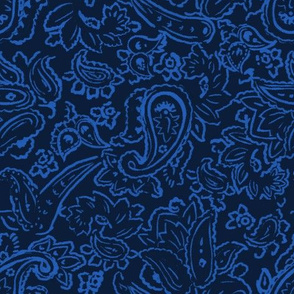 Dudley Paisley - Navy