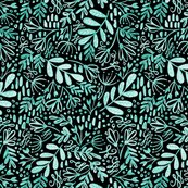 247_blue_yellow_floral_pattern_big_mint_on_black_shop_thumb