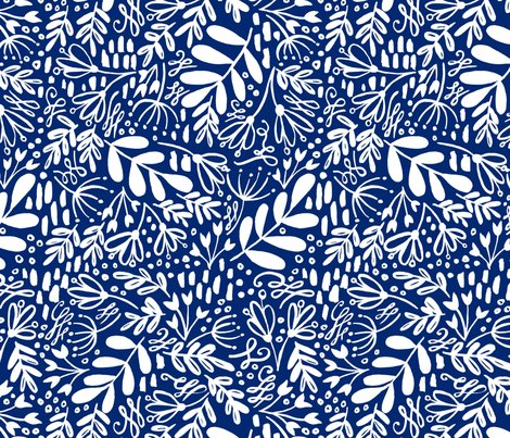 R247_blue_yellow_floral_pattern_big_white_on_blue_shop_preview