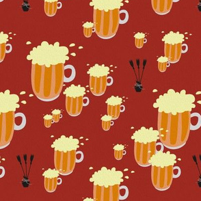 beer and broomsticks - painting effect - potter's world