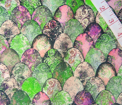 Retro Colored Easter Eggs by Su_G