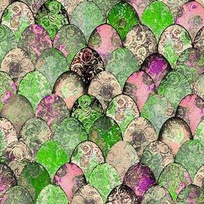 Retro Colored Easter Eggs by Su_G_©SuSchaefer