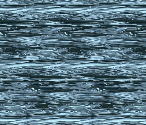 LSB - Liquid Steel Blue Marble, Small CW fabric by maryyx on Spoonflower - custom fabric