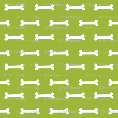 lime green dog bone fabric dogs pet dog design coordinating fabric