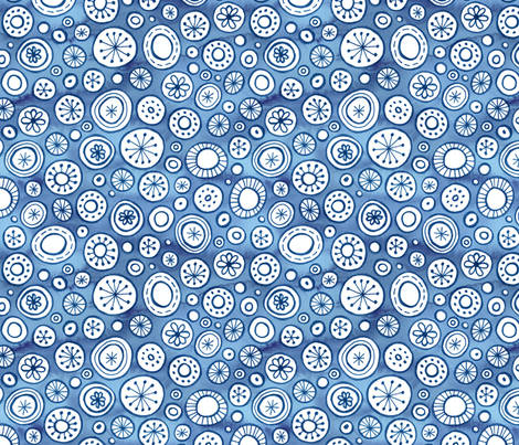 Fairytail Snowfall fabric by marketa_stengl on Spoonflower - custom fabric