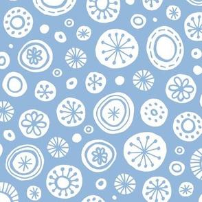 Icy Snowfall