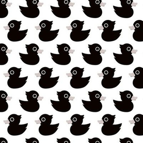Cute little rubber duck adorable black baby and kids print gender neutral