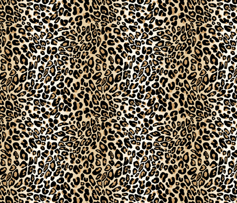 classic leopard fabric by cinneworthington on Spoonflower - custom fabric