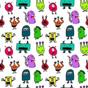 Monsters in Color