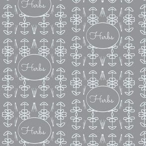 Herbs(white on grey)