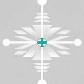 Snowday Swiss Regal Snowflake Teal
