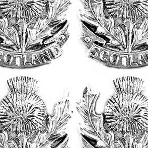 Silver Scotland Spoon