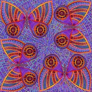 Purple Butterfly Tiger