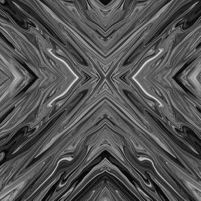 LDG - Liquid Dark Grey Marble, Diamonds on Point, small
