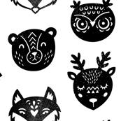 Ink animals