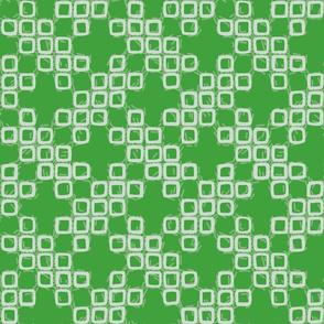 Shibori - green