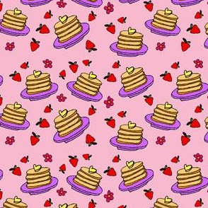 Pancakes - Small Pink