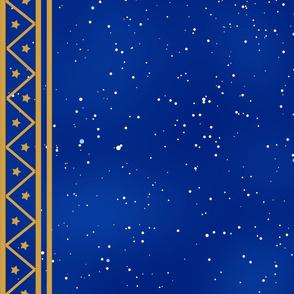 Constellation cape