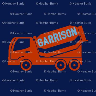 Garrison Loves Trucks
