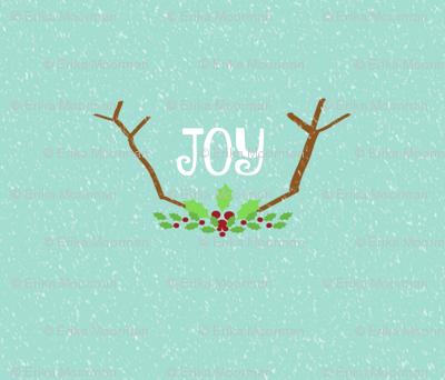JOY Antlers  21-seafoam snow
