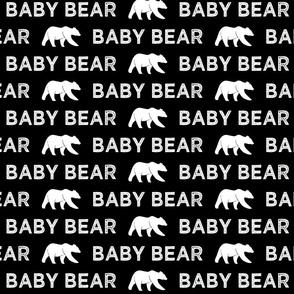 baby bear || black