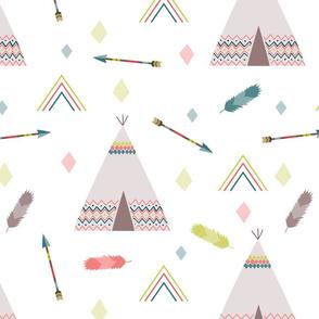 tipis & arrows