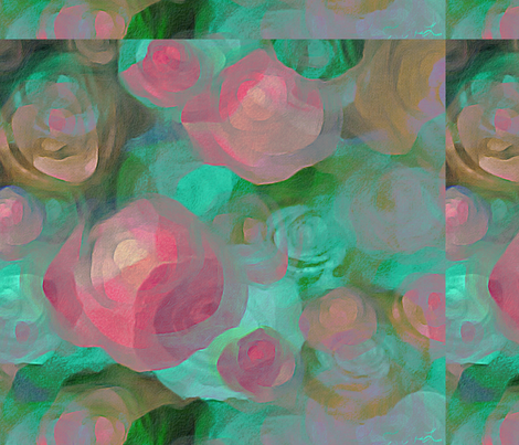 WPINK&GREEN fabric by cruzangirl on Spoonflower - custom fabric