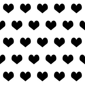 black and white hearts design valentines heart bw heart design