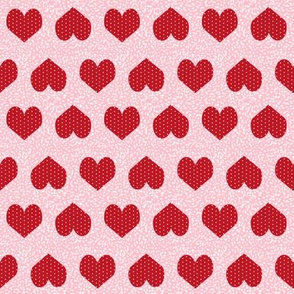 pink and red valentines fabric love heart design love valentines fabrics