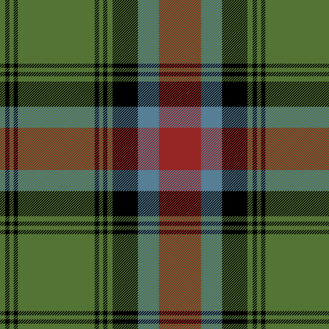 Georgia official tartan - weathered fabric by weavingmajor on Spoonflower - custom fabric