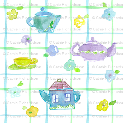 Teapot Plaid
