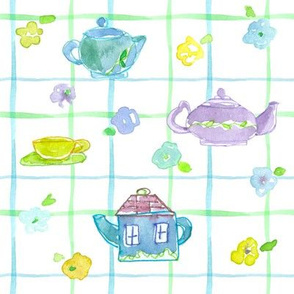 Teapot Plaid