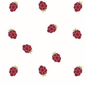 Raspberries berries raspberry red