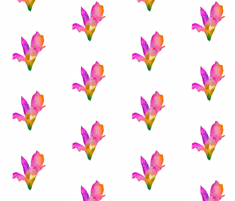 Watercolor Floral fabric by mnmdesigns on Spoonflower - custom fabric