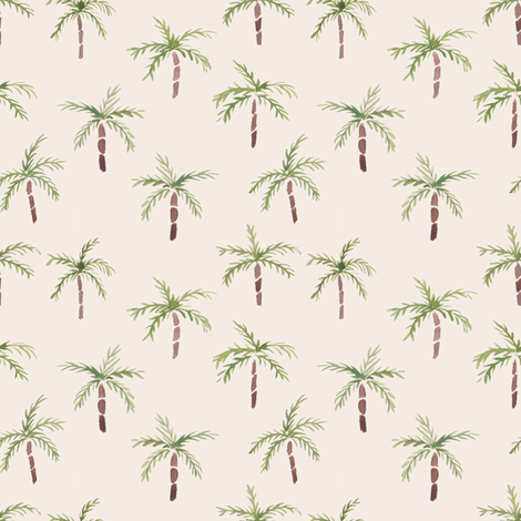 watercolourpalmtrees fabric by meissa on Spoonflower - custom fabric