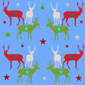 Reindeer Stars