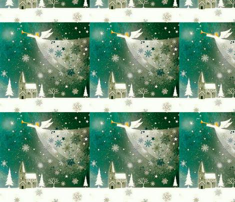 Hark! fabric by floramoon on Spoonflower - custom fabric