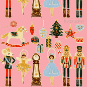 Nutcracker Christmas-pink
