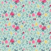 Reaster_floral_tile_on_aqua_shop_thumb