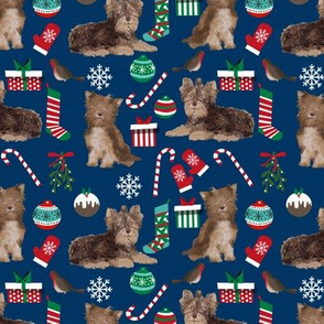 chocolate_yorkie_christmas_navy