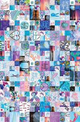 2016 Project Peace Paper - Blue