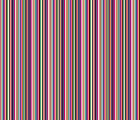 #3 Candy Stripe Dark Jewel_Miss Chiff Designs fabric by misschiffdesigns on Spoonflower - custom fabric