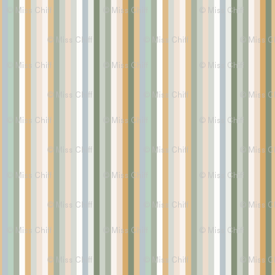 Light Sage Stripe_Miss Chiff Designs