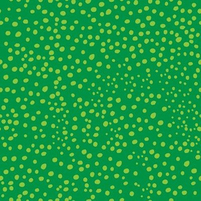 Green Speckles