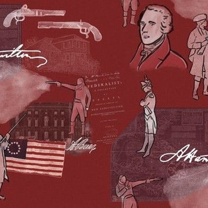 Alexander Hamilton on Red